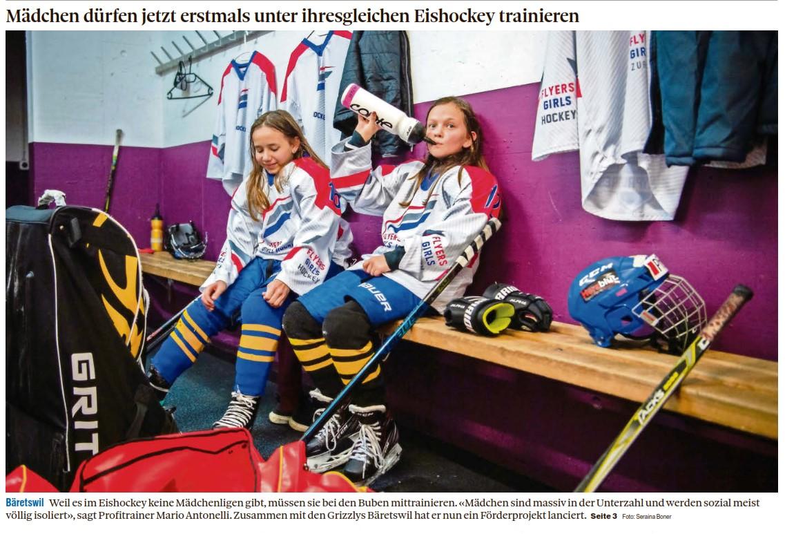 Im Schürli gibt es seit 2020 speziell eine Mädchengruppe für das Eishockey Training. Die Eishalle im Schürli wurde 1996 eröffnet und beherbergt das Restaurant Eisbär.