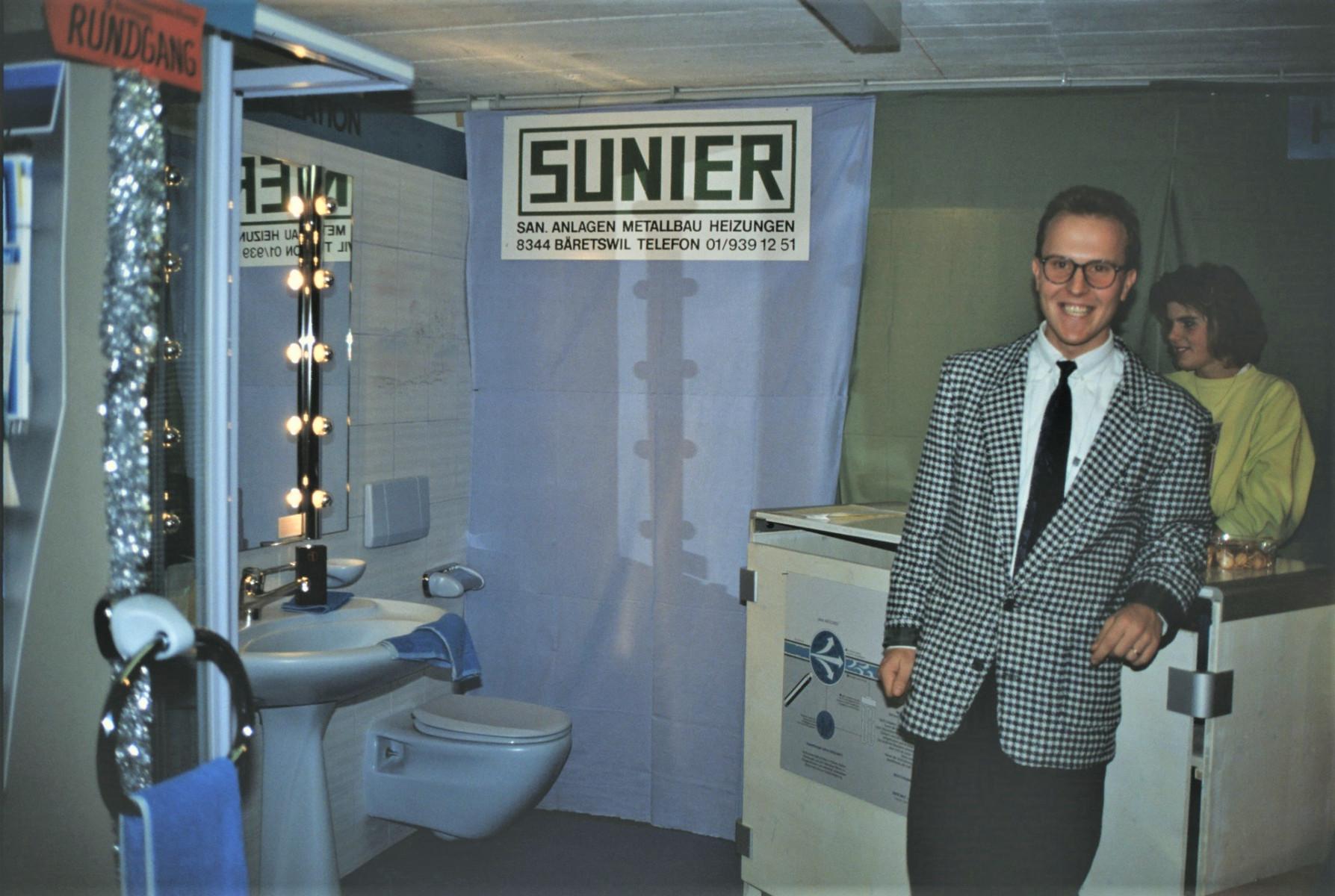 Gewerbeausstellung Sunier AG, Marco Sunier