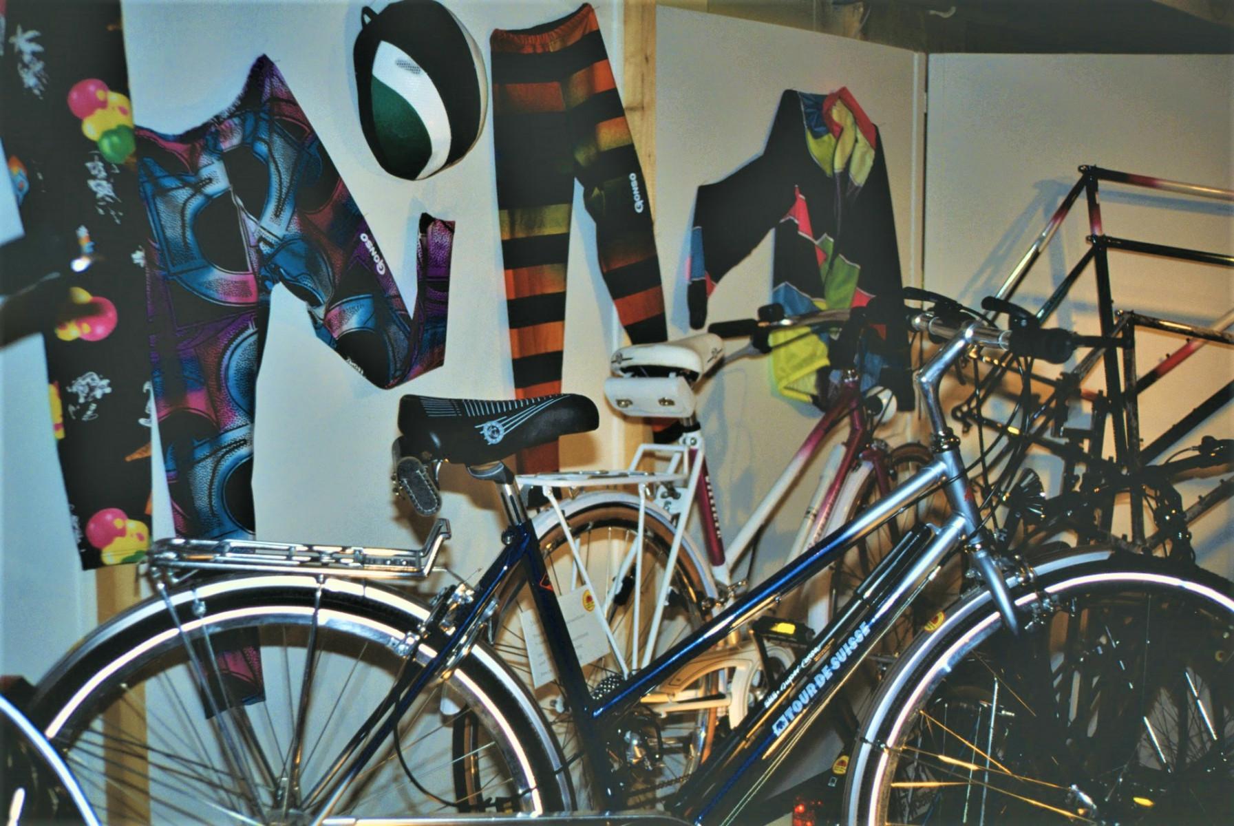 Gewerbeausstellung Velo Linsi