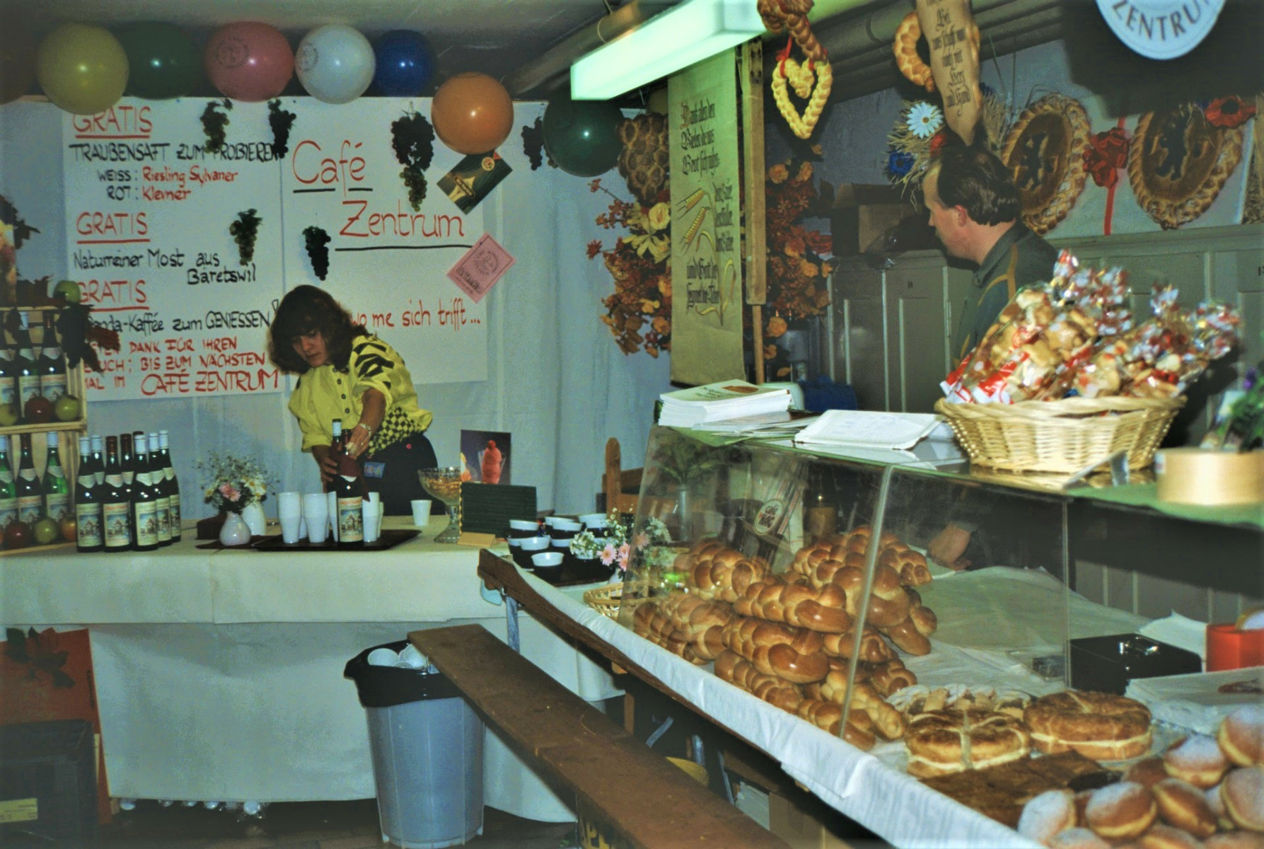 Gewerbeausstellung Café Zentrum