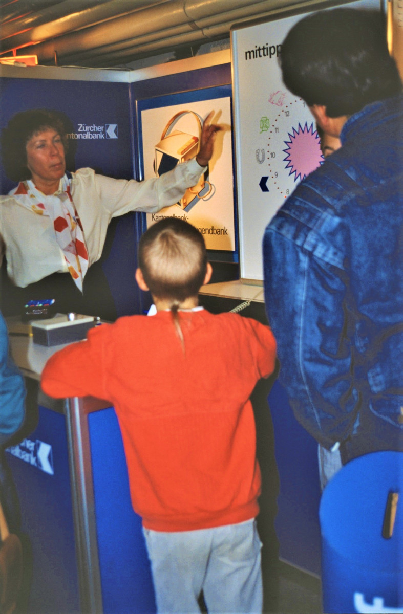 Gewerbeausstellung ZKB Elisabeth Keller