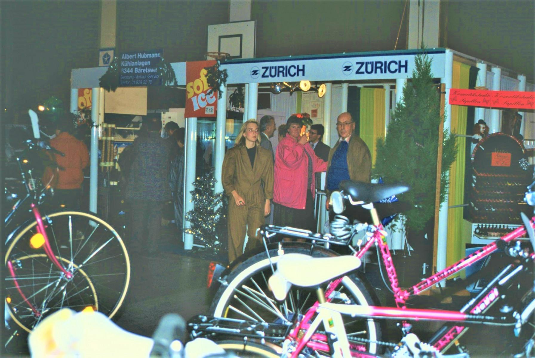 Gewerbeausstellung Zürich-Versicherung, Hubmann Albert