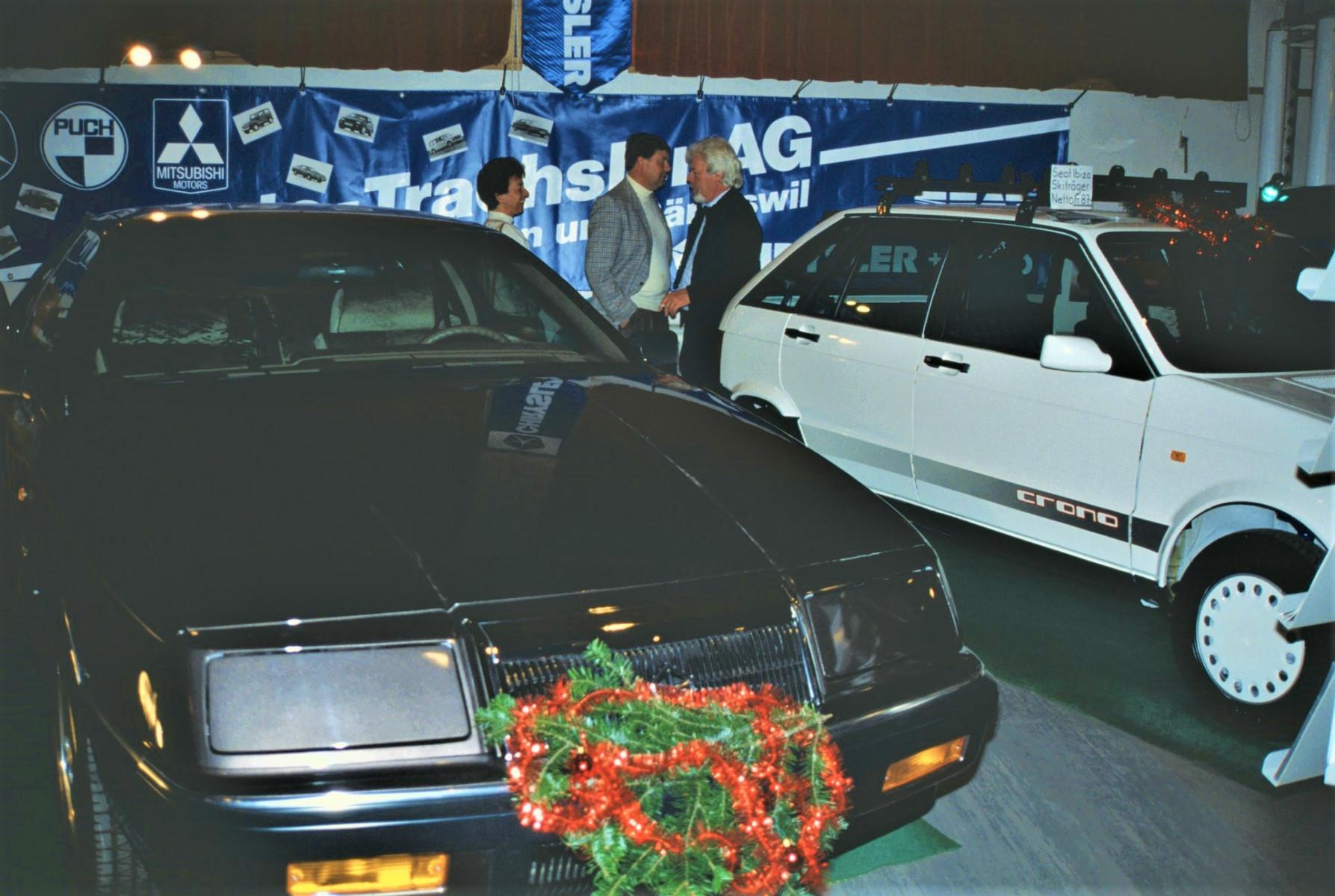 Gewerbeausstellung Auto Trachsler AG, Ernst Trachsler