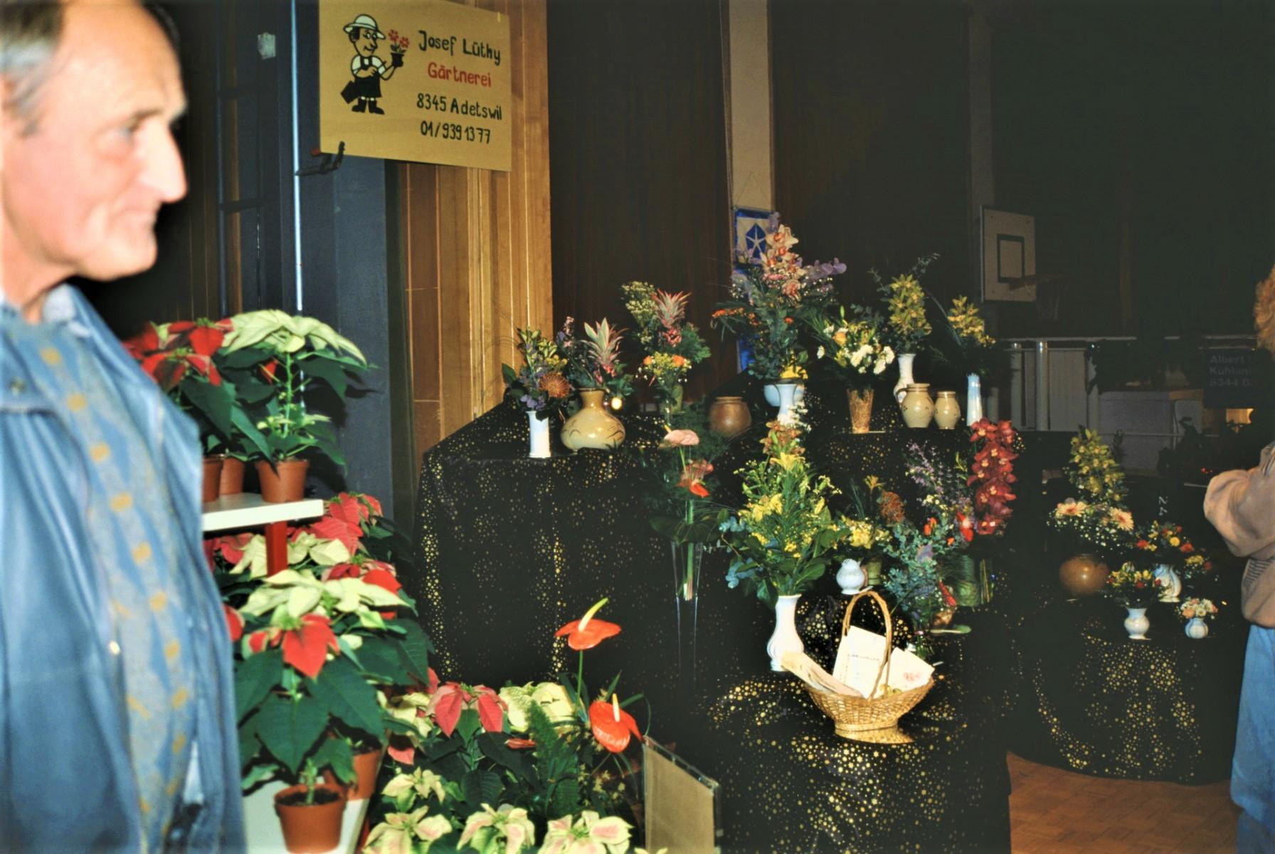 Gewerbeausstellung Gärtnerei Lüthi