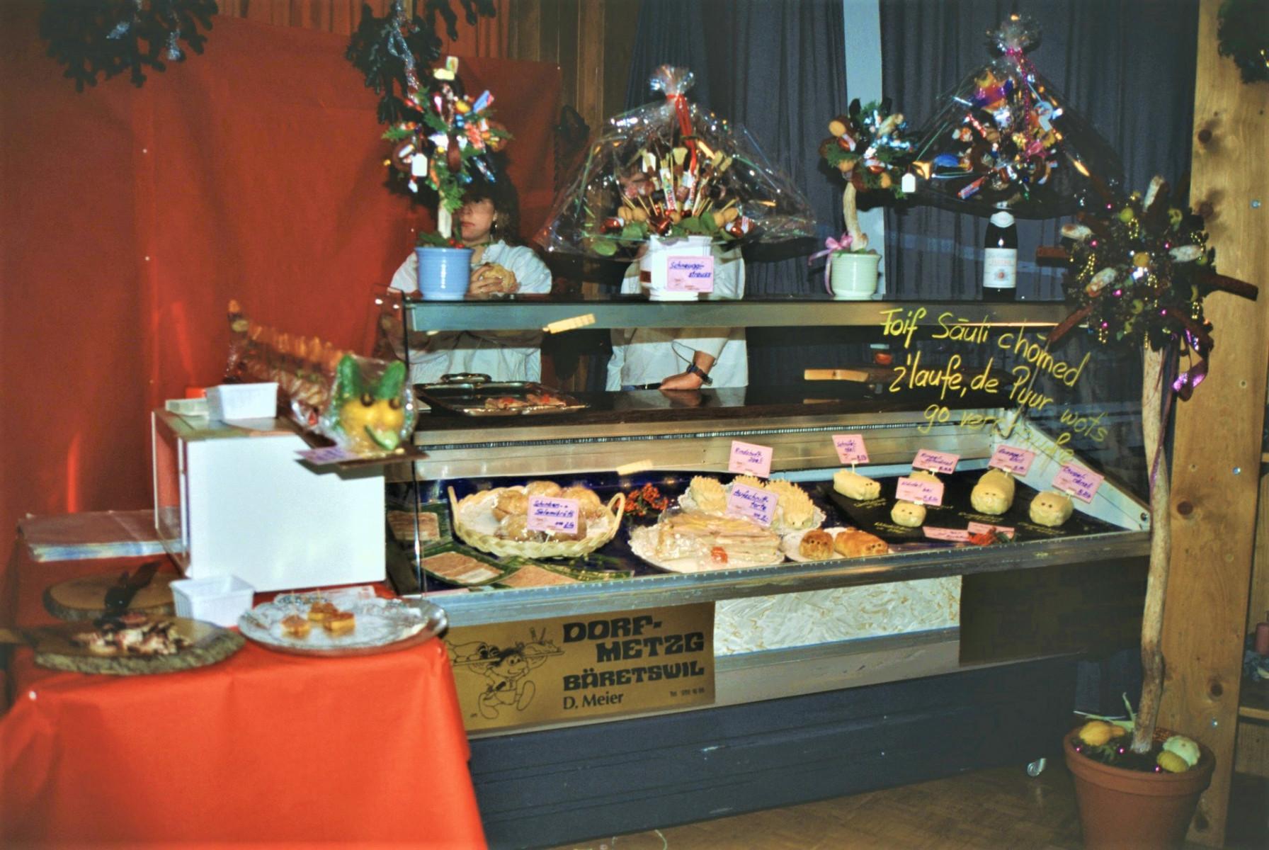 Gewerbeausstellung Dorf Metzg