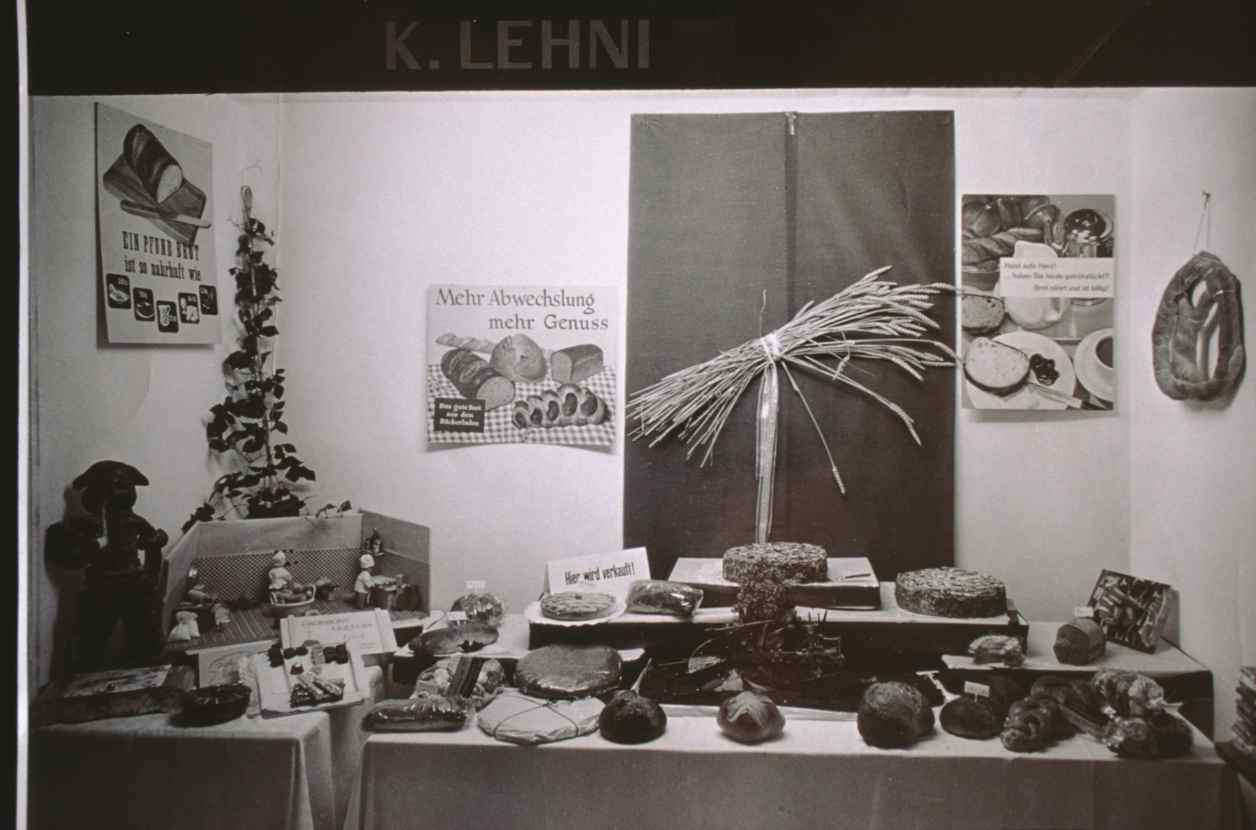 Gewerbeausstellung Bäckerei Lehni