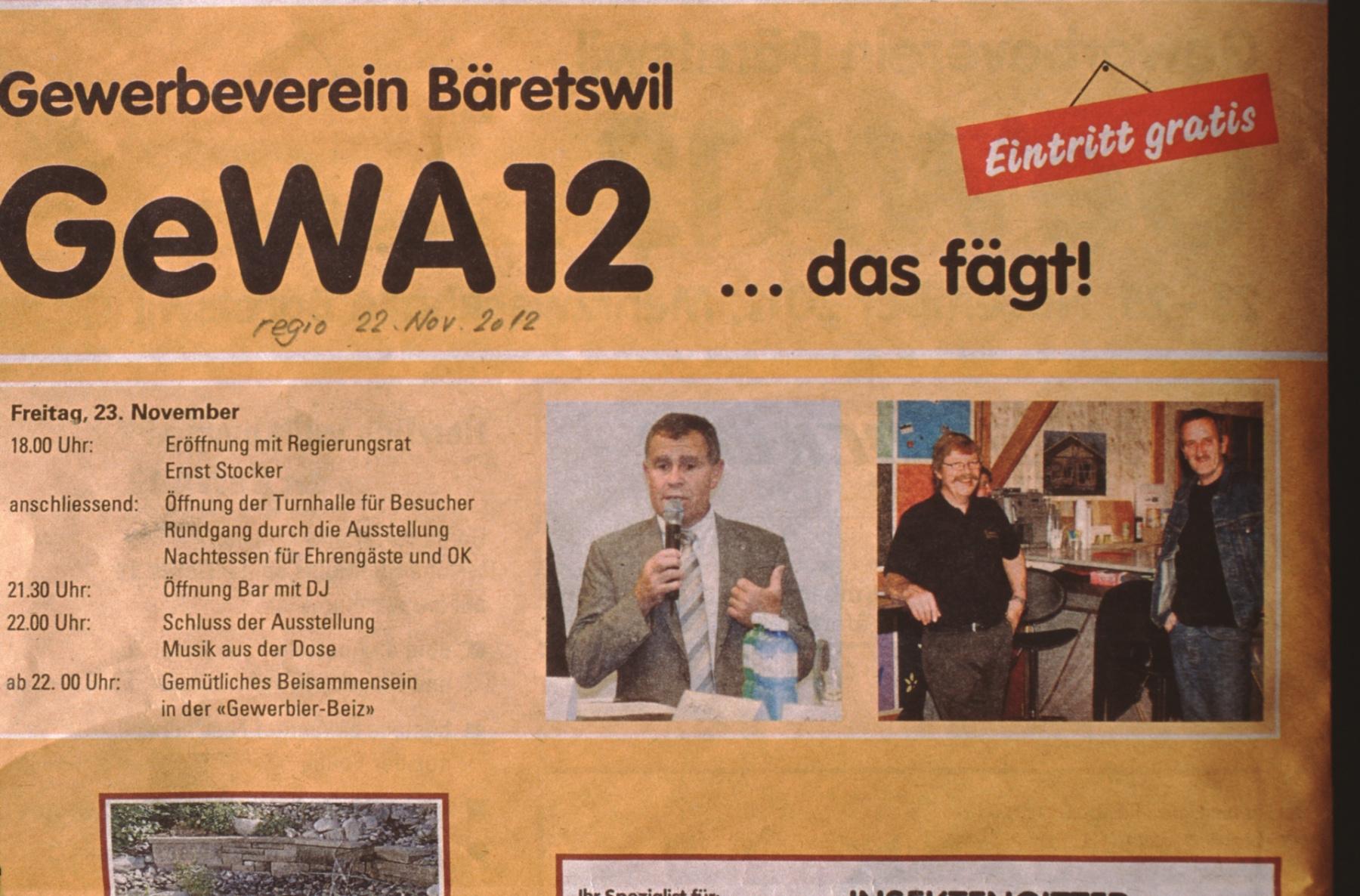 regio GeWA 12