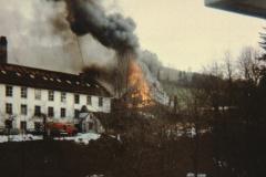 Brand der Fabrikscheune (mit Partyraum)