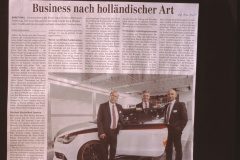 Business nach holländischer Art, Firma Akzo Nobel