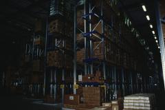 Max Versand, Lagerhaus, Logistikcenter Riesengestelle