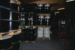 Firma Dr. Pleisch, Lagerraum
