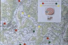 Karte, Käsereien und Milchsammelstellen, seit 2020 nur noch die Käserei Schneider in Bettswil!