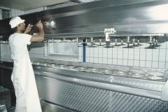 Käserei Klein Bäretswil, Die neuen Käse werden gepresst