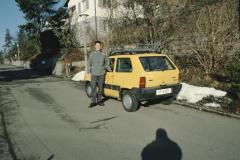 Postbote mit Auto, Rigistr