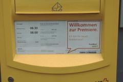Neuer Briefkasten