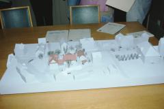 Gemeindehaus, TdoT, Modell Erweiterung