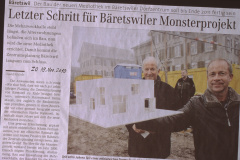 ,Bäretswiler Monsterprojekt' im ZO
