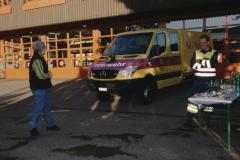 Feuerwehrverein, Übergabe des neuen Oelwehrfahrzeuges, GdeRat Fredi Spörri