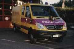 Feuerwehrverein, Übergabe des neuen Oelwehrfahrzeuges