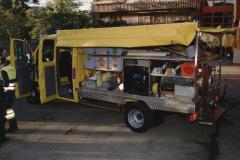 Feuerwehrverein, neues Oelwehrfahrzeug