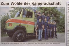 Feuerwehr ,Zum Wohle der Kameradschaft'