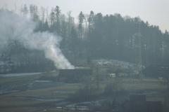 Brand der Scheune, Steinweid