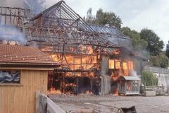 Hof Oberdorf Schönaustr 24, Brand