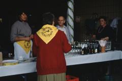 Entsorgungsfest Getränkestand