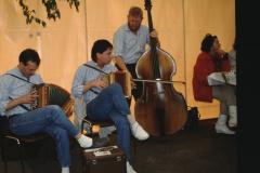 Entsorgungsfest Musik im Festzelt