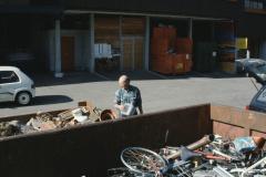 Werkhof mit Aufsicht Fred Spörri