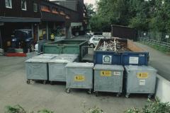 Alu- und Alteisencontainer
