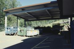 Werkhof Container (Buchsen, Metall) überdacht
