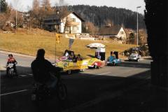 Fasnacht 1989 Autorennen
