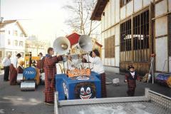 Fasnacht 1990 Baustelle, Wetzikon
