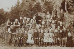 Schule Berg um ca. 1915 rum
