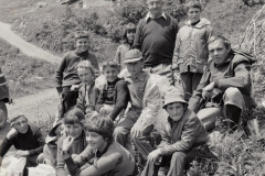 Schule Berg, Klassenlager Unter Engadin, 1972/73, mit Lehrer Hansueli Kuhn