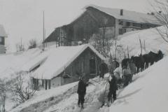 Käserei Kleinbäretswil, alte Käserei im Chatzetobel, in Betrieb bis 1933