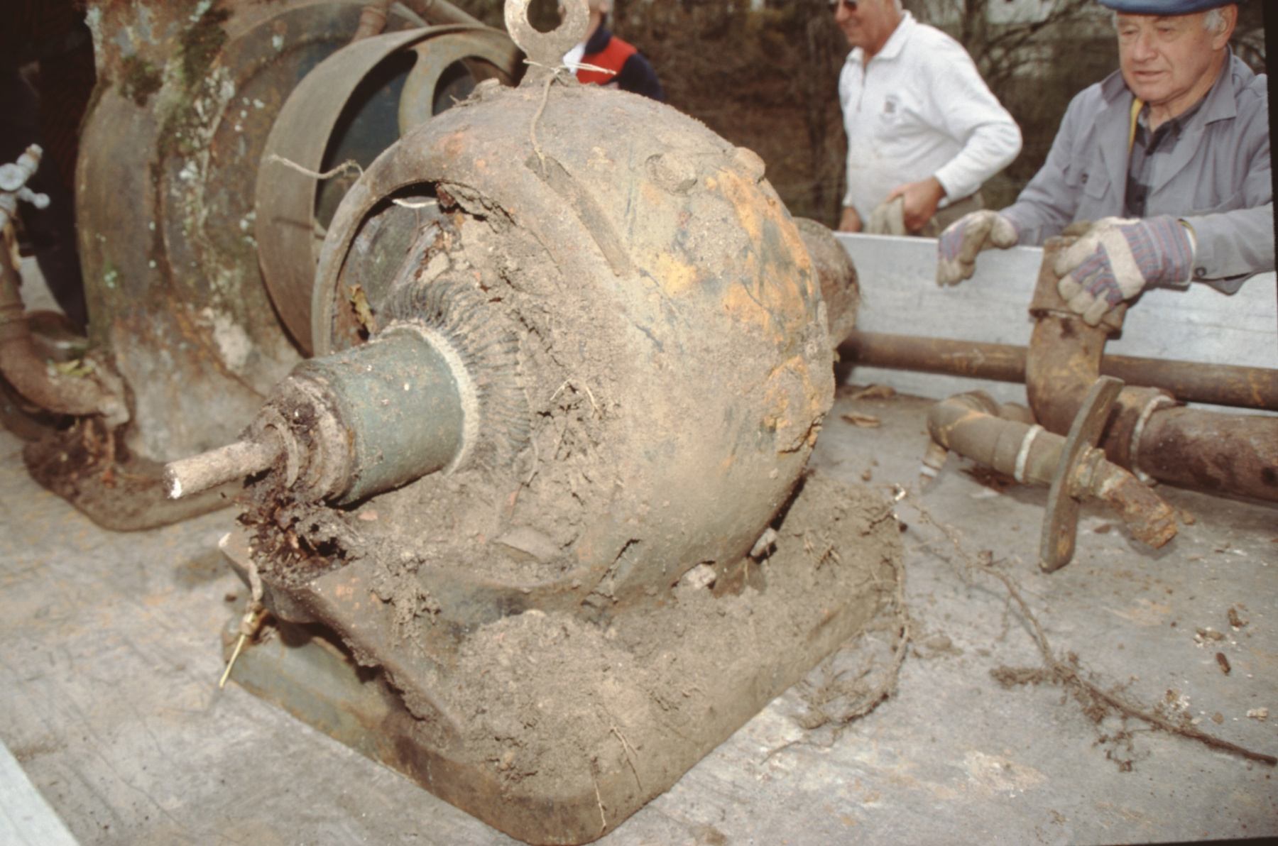 Die schmutzige Turbine