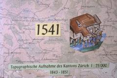 Erstmalige Erwähnung einer Säge im Raum Wappenswil