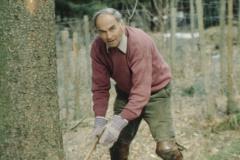 Baumfällen wie früher - Dölf Fenner