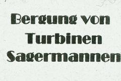 Titel Bergung von Turbinen Sagermann