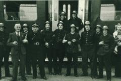 Bahneinweihung 1947, Feuerwehr