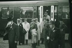 Bahneinweihung 1947, Ehrengäste