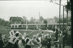 Bahneinweihung 1947