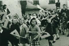 Bahneinweihung 1947, Kinderumzug