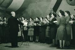 Bahneinweihung 1947, Dirigent Otto Honegger