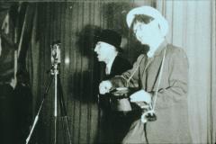 Bahneinweihung 1947, Oskar Keller und H.Leuenberger