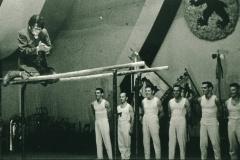 Bahneinweihung 1947, Turnverein