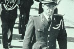 Schulhauseinweihung Dorf 1952, Dirigent Musikverein Otto Schaufelberger