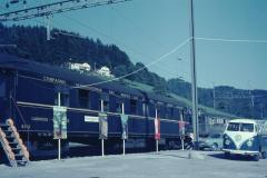 Bahnfest 1967, Ausstellung von Int. Bahnwagen